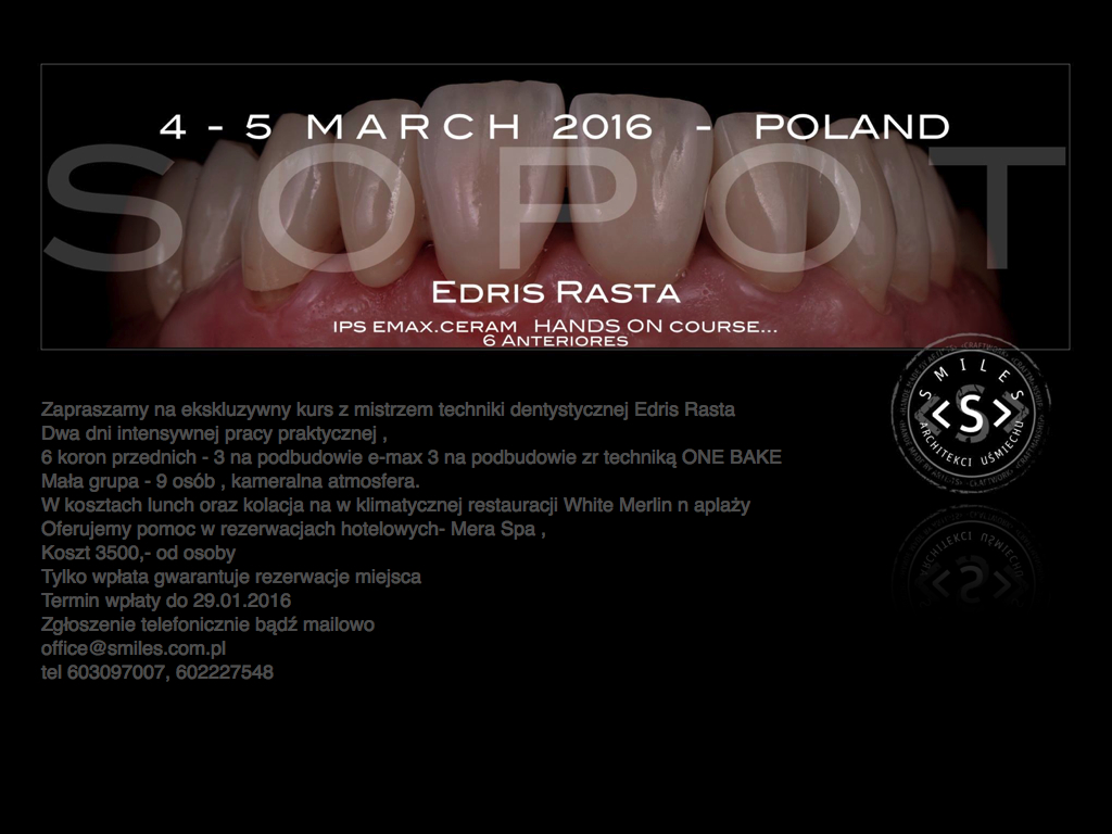 Edris Rasta Hands On kurs